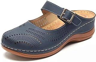 N/A Zapatillas de baño, Zapatillas de Gran tamaño, Zapatillas de Suela Plana, Zapatillas cómodas de Suela Gruesa, Zapati...