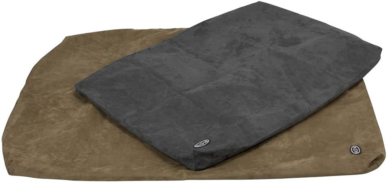 Buster Memory Foam Bed Cover Only, 120 x 100 cm, Grey