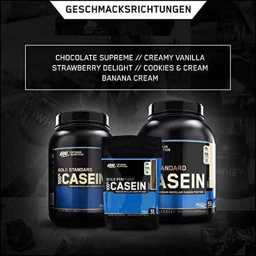 Optimum Nutrition 100% Casein Gold Standard Protein Vanilla, 1er Pack (1 x 450 g) - 5