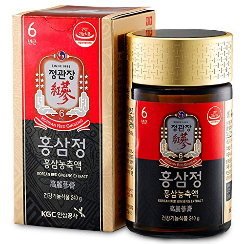 red korean ginseng efectos secundarios