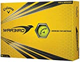 Callaway Warbird Golf Ball, Prior Generation, (One Dozen), Yellow