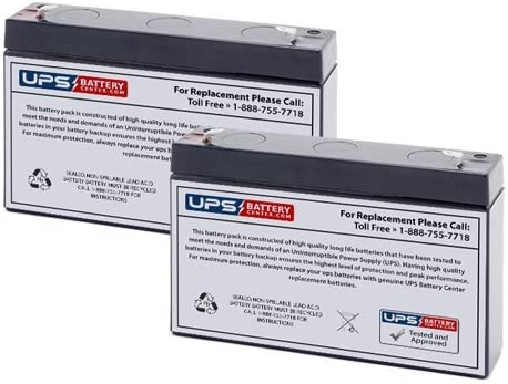 OR500LCDRM1U Compatible - Replacement Battery Set by UPS Battery Center