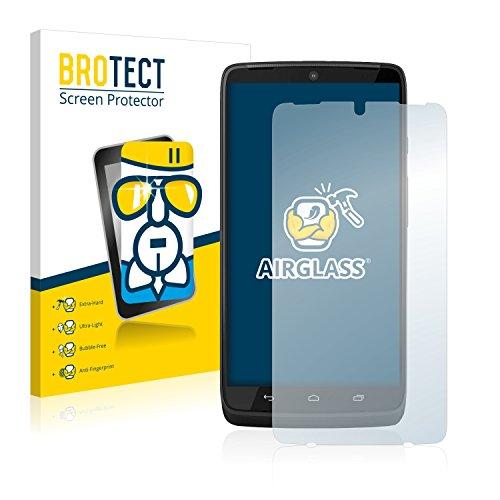 BROTECT Panzerglas Schutzfolie kompatibel mit Motorola Moto Maxx - AirGlass, extrem Kratzfest, Anti-Fingerprint, Ultra-transparent