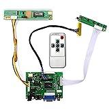 HDMI + VGA + 2AV placa de regulador LCD de entrada para B141EW03 LP154W01 Panel LCD de 14.1 '15.4' 1280x800
