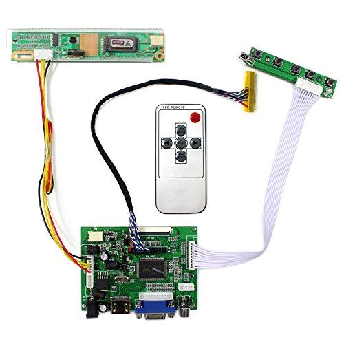 HDMI + VGA + 2AV placa de regulador LCD de entrada para B141EW03 LP154W01 Panel LCD de 14.1