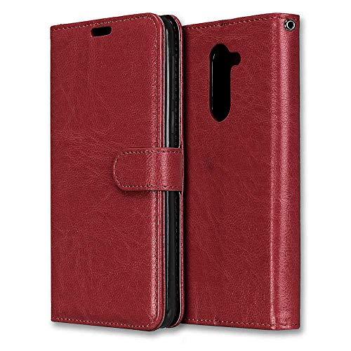 Huawei Honor 6X Hülle, CAXPRO® Handyhülle Premium Leder Brieftasche Flip Schutzhülle mit Standfunktion und Kartenfach für Huawei Honor 6X, Braun