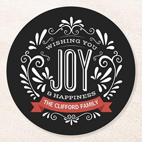 Posavasos para bebidas, base de corcho, juego de 4 posavasos personalizados, para el hogar y la cocina, divertido regalo para el hogar, regalos de Navidad