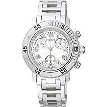 HERMES (エルメス) 腕時計 CLIPPER DIVER CHRONO クリッパーダイバークロノ ホワイトパール CL2310.212.3782 レディース [並行輸入品]