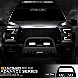 Stehlen 714937184565 3' Classic Series Bull Bar (Matte Black) with 36W CREE LED Light Bars For 2004-2020 Ford F150 / 2003-2017 Expedition / 2003-2014 Lincoln Navigator / 2006-2008 Mark LT