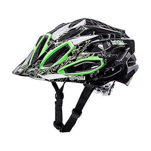 Kali Protectives Maraka MTB Helm–Schwarz, Small/Medium