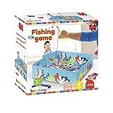 JUMBO- Bambino Fishing Game-Jeu de pêche, Manipulation et éveil pour Enfants dès 2 Ans, 19807, Multicolore