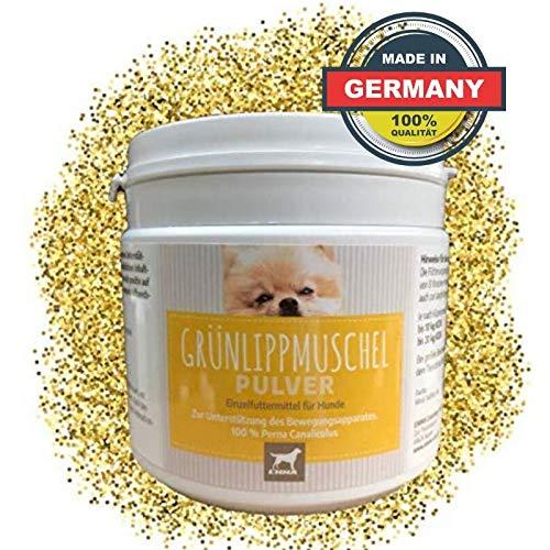 EMMA® Groenlipmosselpoederhond I 250g I Groenlipmosselextract I Gewricht plus I Voedingssupplementen I Gewricht & Gewrichtsfunctie, Kraakbeenhond