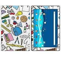 igsticker Qua tab PZ LGT32 全面スキンシール タブレット tablet LGエレクトロニクス シール ステッカー ケース 保護シール 背面 015317 学校 給食 持ち物 文具 エプロン