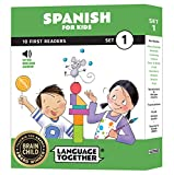Spanish for Kids: 10 First Reader Books with Online Audio and English (Beginning...