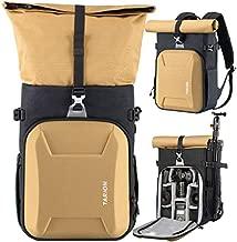TARION XH Camera Backpack Waterproof Camera Bag Hard Shell Roll Top Expandable Large Camera Backpack 18.5L | 15