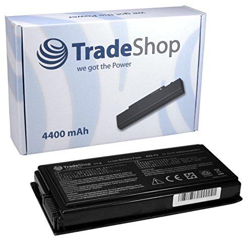 Trade-Shop - Batería para ASUS X50M X50N X50R X50RL X50SL X50V X50VL X-50 X-50-C X-50-M X-50-N X-50-R X-50-RL X-50-SL X-50-V X-50-VL, (sustituye A32-F5 70-NLF1B2000Z 70-NLF1B2000Y, 4400 mAh, alto rendimiento, ion de litio)