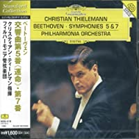 Beethoven: Symphonies Nos. 5 & 7 by Thielemann/Philharmonia Orchestra (2006-01-13)