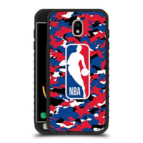 Head Case Designs Ufficiale NBA Camouflage 2018/19 Logoman Cover Blindata Lite Nera Compatibile con Samsung Galaxy J5 (2017)