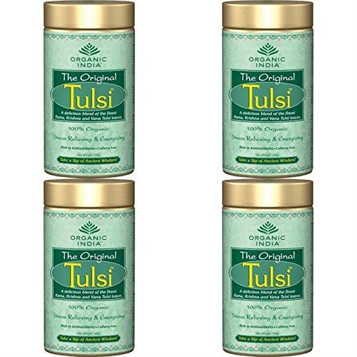 (4er BUNDLE)| Organic India - Org Tulsi Original -100g