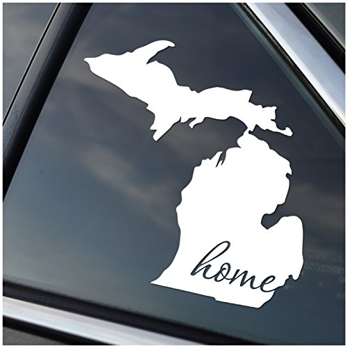 Michigan is Home Vinyl Decal