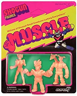 Shogun M.U.S.C.L.E. Mini-Figures Pack A