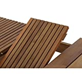 Siena Garden Ausziehtisch Falun Akazienholz geölt in natur Tischplatte - 14