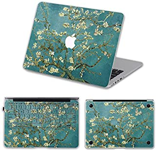 Customized Painting Vincent Van Gogh Almond-tree Branch in Blossom Special Design Removable Vinyl Decal Full-cover Sticker Skin for Macbook Pro 13