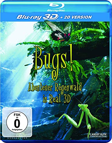 Bugs! Abenteuer Regenwald in 3D: Blu-ray 3D