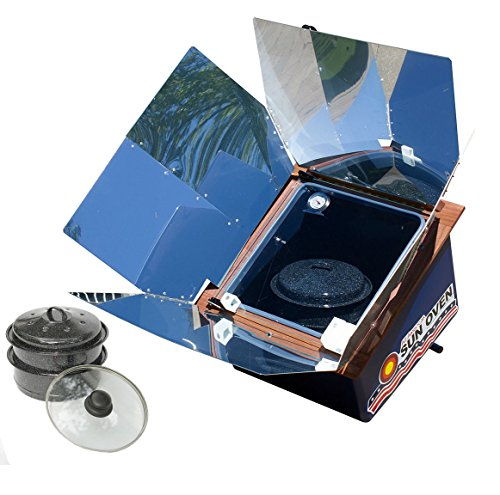 Premium Bundle- All American Sun Oven- The Ultimate Solar Appliance w/ EasyStack...