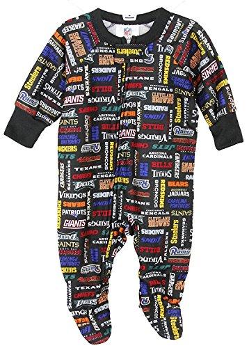 GERBER NFL Baby and Little Boys All Team Football Sleeper (12 Months)