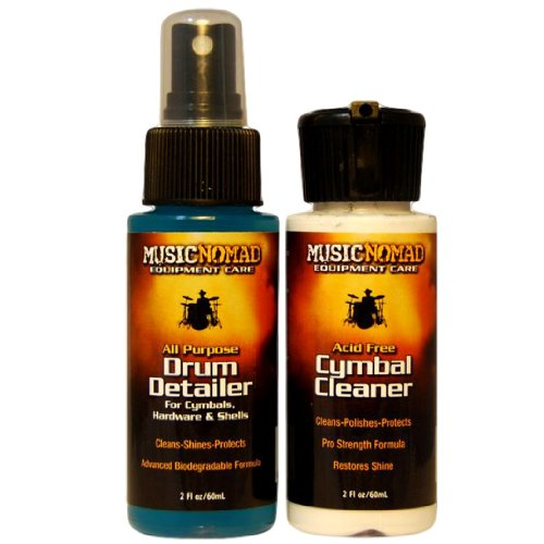 Music Nomad Cymbal Cleaner Drum Detailer
