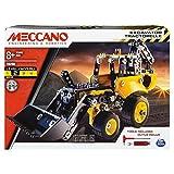 Meccano - 6043106 - Jeu de Construction - Tractopelle de Chantier