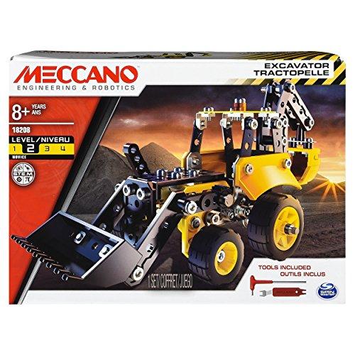 MECCANO Ruspa da Assemblare, 209 Pezzi, 6043106