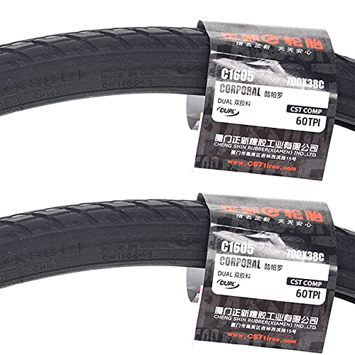LHYAN 700 * 38C,26 * 1.5,700 * 35C, Tire,Wear-Resistant,60 TPI for Mountain Touring Bicycle Tires,700 * 38