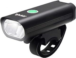 YATDA 自転車ライト USB充電式 LEDヘッドライト 高輝度 懐中電灯兼用 小型 停電対応 地震対策 登山 夜釣り アルミ合金製 防水 防振