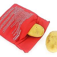 Mikrowellen-Ofenkartoffel-Beutel: Mit diesem Mikrowellenofen-Kartoffelbeutel können Sie perfekt gegarte, feuchte, köstliche Kartoffeln genießen, während Sie Ihre Zubereitungszeit bei der Herstellung von Kartoffelbrei und anderen Lieblingsgerichten er...