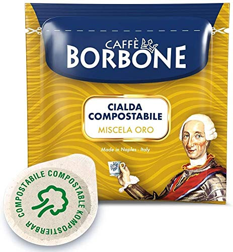 150 CIALDE CAFFE' BORBONE ORO FILTRO IN CARTA 44MM