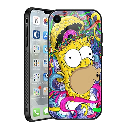 Simpson_s Phone case for iPhone xr - Shockproof wateroroof case for Compatible with iPhone xr magsafe Case 6.1 ihch,Cartoon The Simpson_s for iPhone xr Protective case