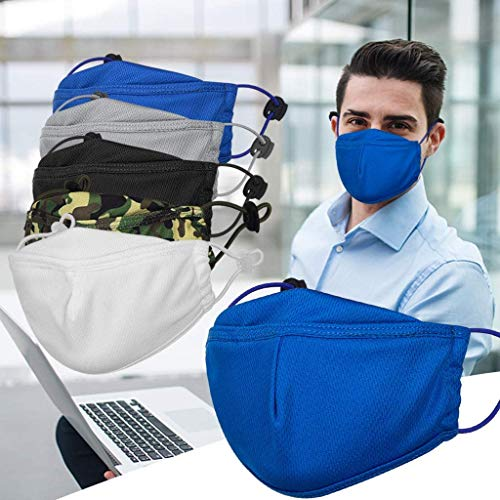 Suitable for Children to Breathe Gokeop 50Pcs Designed for Children 3-Layers Non-Woven Keep Kids Safe and Protect Mouth and Nose White