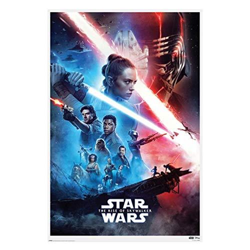 Poster Star Wars, multicolore, 61 x 91,5 cm