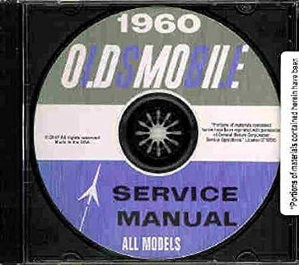1961 1962 Oldsmobile Shop Manual CD Olds 88 98 Service Repair Dynamic Super