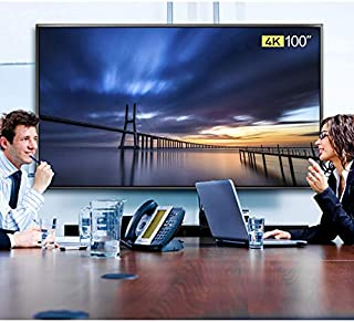 FL-84100TP-TV1, 100 Inch TV 4K Ultra HD Smart LED TV High Resolution 3840×2160(Ultra HD), Homepage with One Key of Front B...
