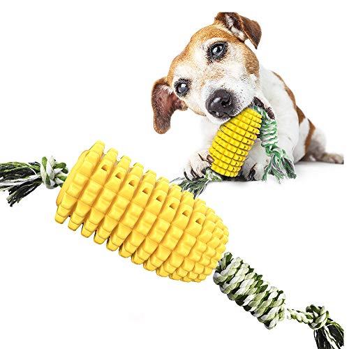 BVAGSS Multifunktions Kauseilballspielzeug für Hunde Pet Molar Biss Spielzeug Chew Toy Spielzeug Reinigung Zähne Kugel XH053 (067 Yellow)
