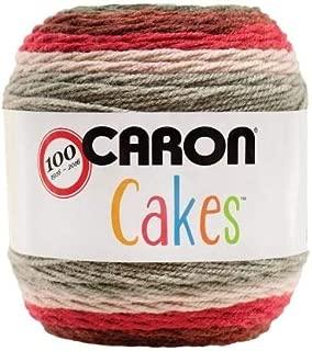 Caron Cakes Self-Striping Yarn ~ RED VELVET # 17005 ~ 7.1 oz. Cake by the Each