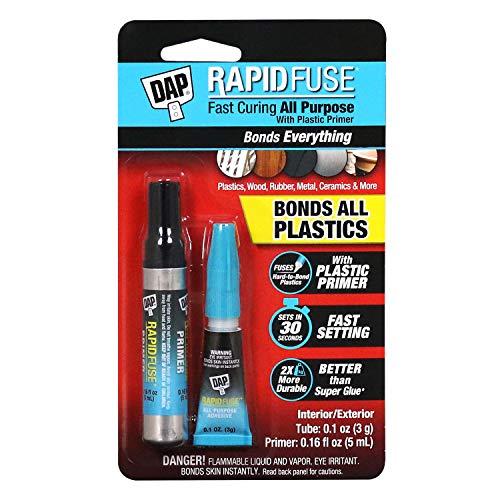 RapidFuse 7079800171 Plastice Kit Adhesive Primer, Clear