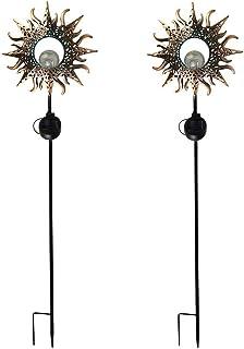 ASKLKD Lumière de Paysage de la pelouse Solaire, LED Fournitures de décoration de la pelouse de la pelouse de la pelouse d...