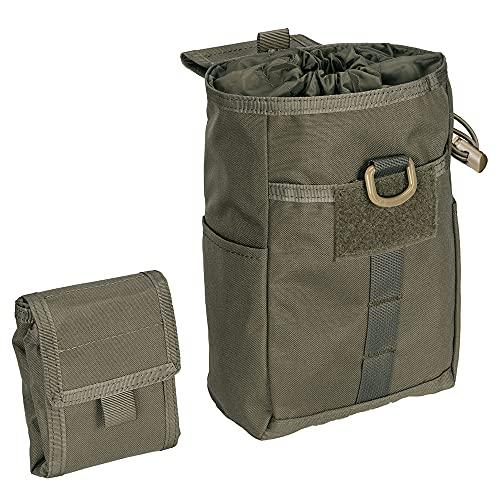 EXCELLENT ELITE SPANKER Molle Magazintasche Werkzeug EDC Taschen Dump Pouch(Olivgrün)
