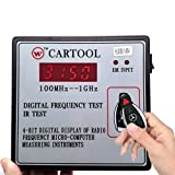 SAVEMORE4U18 Car IR Infrared Remote Key Frequency Tester Digital Frequency Gauge 100MHz-1GHz