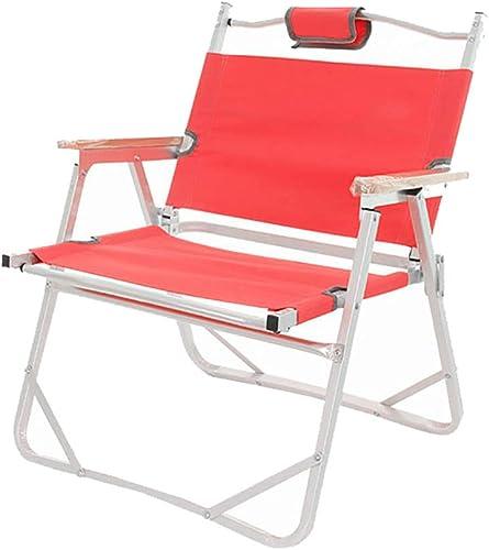 FZTX-ZDY Chaise Pliante, pêche en Plein air sur la Plage de Camping Chaise Pliante, Chaise de Directeur Portable en Alliage d'aluminium de pour Les Loisirs de Plein air, Oxford