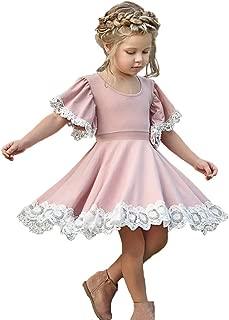 girls pale pink dresses